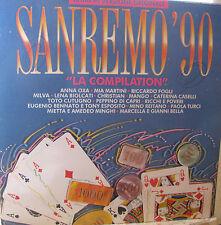 SANREMO '90 la compilation-LP-fino 2 lp spese sped.NON aumentano-oltre vedi off.