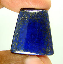 34.70 Ct Natural Fancy Cab Blue Lapis Lazuli Gold Flakes Loose Gemstone - 6730