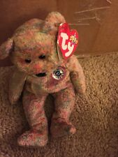 SPECKLES the FIRST E-BEAR 2000 Ty Beanie Baby NWT (see below)