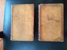 David Hume Essays and Treaties on Several Subjects 1777 Two Volumes