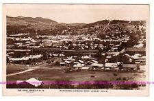 ALBURY NSW  Panorama looking West Clock Tower  Regent c.1920 RPPC Rose AUSTRALIA