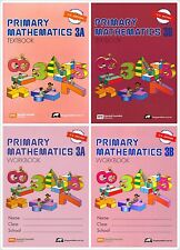 Singapore Primary Math Grade 3 Kit (US ED)-Workbook,Textbook 3A+3B-FRE