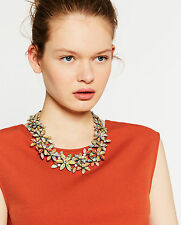 Zara Colourful Summer Flowers Necklace