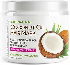 Coconut Oil Hair Mask - Deep Conditioner 100% Cold pressed Coconut Oil for Ha...