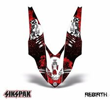 SIKSPAK Yamaha Apex Sled Sticker Decal Snowmobile Hood Graphic Kit 06-10 REBIRTH