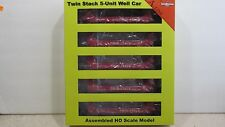 A-LINE  ~ NOKL GUNDERSON TWIN STACK 5 UNIT SET #250447 ~ HO SCALE