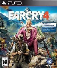 Far Cry 4 RE-SEALED Sony PlayStation 3 PS PS3 FC FC4 GAME