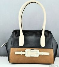 NWT Handbag GUESS JONSI Satchel Bag Black Multi