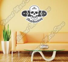 "Skateboard Deck Skateboarding Extreme Wall Sticker Room Interior Decor 25""X18"""