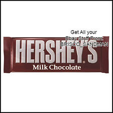 Fridge Fun Refrigerator Magnet HERSHEY'S CHOCOLATE BAR Version A- Candy DIECUT