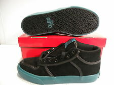 ALIFE EVERYBODY MID SUEDE SNEAKERS MEN SHOES BLACK/GREEN F91EVMBP1 SIZE 7 NEW