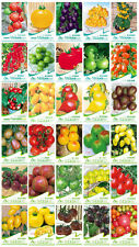 30 Kinds 650+ Tomato Seeds Colourful Lycopersicon Esculentum Seed Organic Food