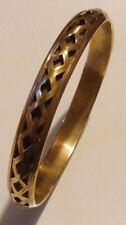 LOVELY Vintage Antiqued Gold Brass Plated Finish Stackable Bangle/ Bracelet*****