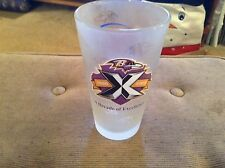 Baltimore ravens 10 years of excellence Miller light beer glass