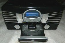 New MEMOREX Brand Nostalgic AM /FM Radio / CD Player / with Turntable # 9271MMO