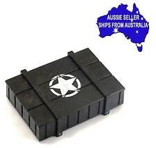 """""""Ammo"""" box Weapon Box for 1:10 RC may be for Axial Tamiya Vaterra Losi YA-0372"""