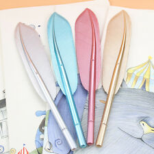 Creative Office Student Stationery Gift Lovely Wing Feather Ballpoint Pen Random