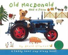Teddy Bear Sing-Along: Old MacDonald Had a Farm (2016, Board Book)