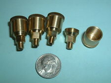 (4) Model Hit & Miss Gas Engine or steam engine Brass Grease Cups  10-32 thread