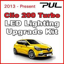Renault Sport Clio 200 Turbo PURE WHITE LED Interior & Side lighting kit SMD