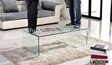 Modern Design Living Room High Quality Clear Glass Coffee Table