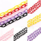 5Pcs Durable Plastic Counting C Chain C-Links Sugar Glider Parrot Bird Toy Parts