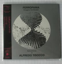 Alfredo TISOCCO-ferrofania JAPAN MINI LP CD NUOVO RAR! Poce - 1272