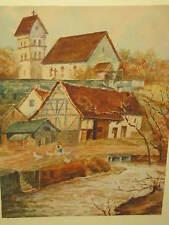 VOLTZ Friedrich, *1817 Gänseliesl am Dorfweiher