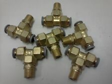 172PL 8-6 PARKER PRESTOLOK BRASS FITTING
