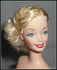 NUDE BARBIE MATTEL CELEBRITY MARILYN MONROE GENTLEMEN PREFER BLONDS DOLL OOAK