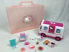 Hello Kitty Emergency Ambulance Playset w/ Large Portfolio Case 4 access Fr Ship