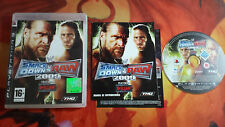 SMACKDOWN SMACK DOWN VS RAW 2009 PAL ESP PLAYSTATION 3 PS3 INVIO 24/48H