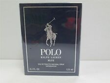 Ralph Lauren POLO BLUE 4.2 oz 125 ml Men Cologne EDT  Brand New In Box SEALED