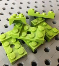 Lego Lime Green Vehicle Mudguards 2x4 With Arch Studded With Hole Car Parts 6pcs