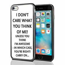 Don't Care What You Think Funny For Iphone 7 Case Cover By Atomic Market