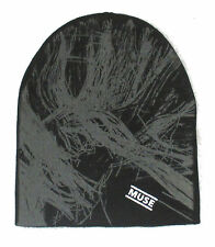"MUSE ""2ND LAW"" BLACK BEANIE SKI HAT CAP NEW OFFICIAL OSFA"