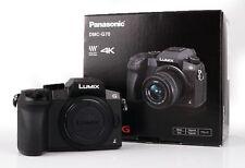 Panasonic Lumix DMC-G70 G 70 schwarz Gehäuse Ausstellung Panasonic-Fachhändler