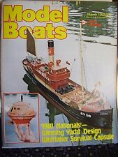 MODEL BOATS 1982 MARCH BOOM SAFAR USS LONG BEACH NOOKIE BEAR R10R HMS HABAKKUK