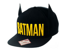 DC Batman Dark Bat Ears Snap Back Cap Hat Official Merchandise