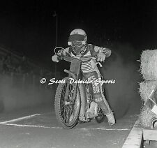 1989 RONNIE CORREY AMERICAN FINAL SPEEDWAY MOTORCYCLE 8 X 10 RACING PHOTO