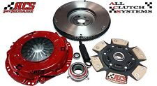 ACS STAGE 3 CLUTCH KIT+FLYWHEEL 1984-1988 TOYOTA 4RUNNER PICKUP 2.4L 22R 22RE