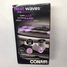 NEW Conair JUMBO Hot Rollers Pageant Electric Hair Curlers Heat Waves BIG CURLS
