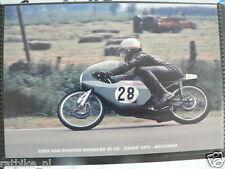 S0141-PHOTO- CEES VAN DONGEN KREIDLER 50 CC ASSEN 1973 NO 28 MOTO GP