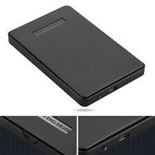 """Boîtier Externe Housse Etui 2.5"""" USB 2.0 pour Disque Dur NOIR SATA HDD"""