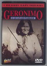 GERONIMO E QUANAH PARKER 2004 DVD 8009044607352 OTTIMO USATO
