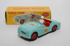P DINKY TOYS 111 TRIUMPH TR2 TR 2 SPORTS CAR TURQUOISE MINT BOXED RARE SELTEN.