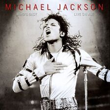 MICHAEL JACKSON-WHO`S BAD - LIVE ON AIR  CD NEW