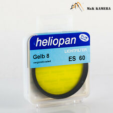 New Heliopan 60mm Yellow Gelb 8 E60 Filter Black for Noctilux-M 50 Summilux-M 75