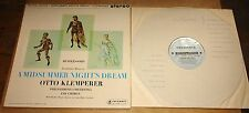 MIDSUMMER NIGHT'S DREAM T/S B/S TURQUOISE SILVER COLUMBIA STEREO SAX 2393 LP