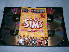THE SIMS COMPLETE COLLECTION PC CD-ROM V.G.C. FAST POST COMPLETE